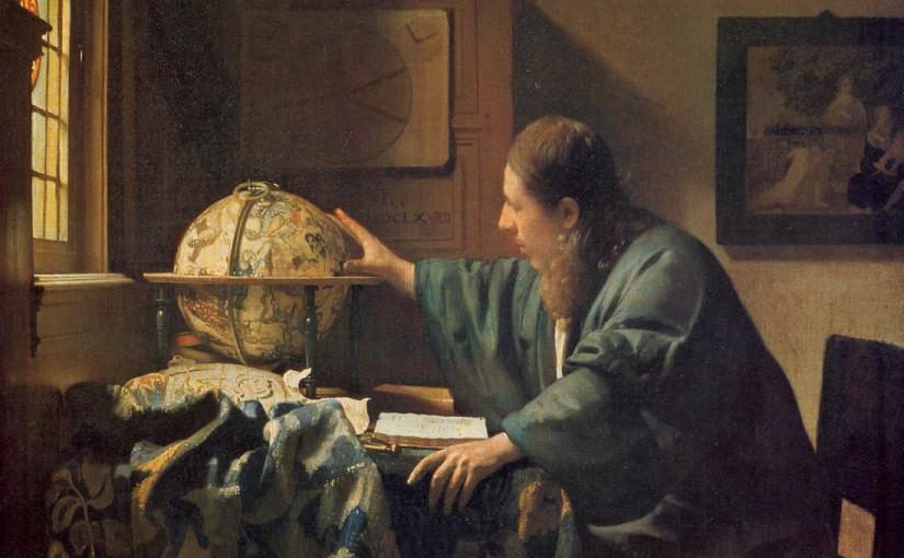 フェルメール『天文学者』