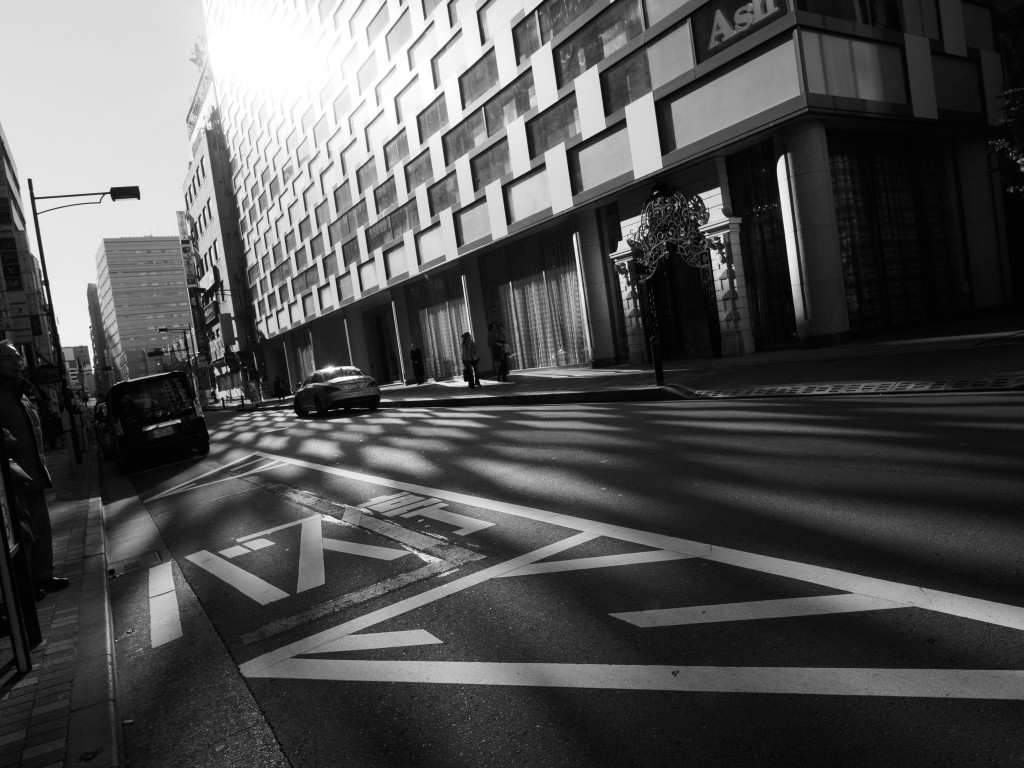 24mm practice. Ginza, Tokyo.