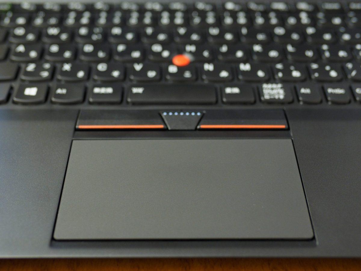 ThinkPadのタッチパッドのジェスチャーが効かなくなった